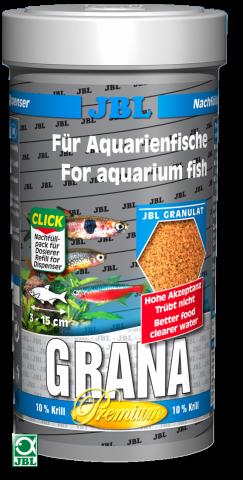 Сухой корм для рыб JBL Grana - гранулы