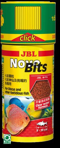 Сухой корм для рыб JBL NovoBits Click - гранулы