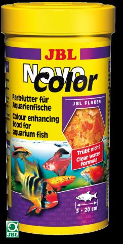 Сухой корм для рыб JBL NovoColor - хлопья