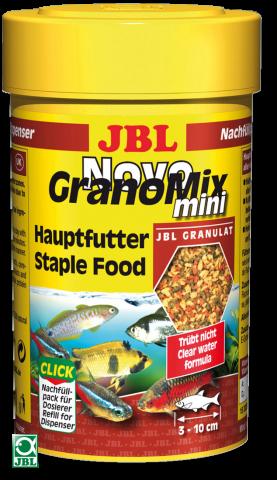 Сухой корм для рыб JBL NovoGrano Mix Mini Refill - гранулы