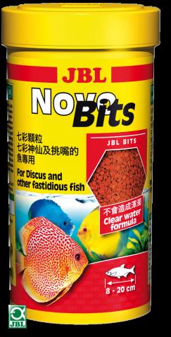 Сухой корм для рыб JBL NovoBits - гранулы