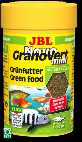 Сухой корм для рыб JBL NovoGrano Vert Mini Click - хлопья