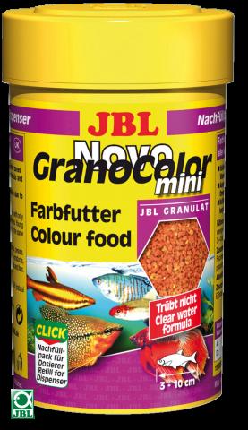 Сухой корм для рыб JBL NovoGrano Color Mini - гранулы