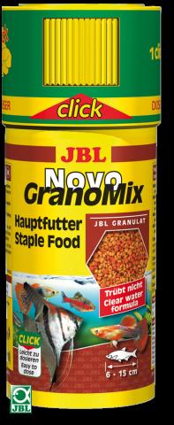 Сухой корм для рыб JBL NovoGrano Mix Mini Click - гранулы