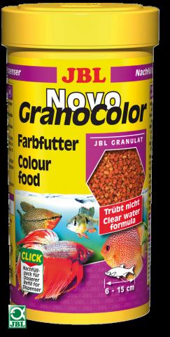 Сухой корм для рыб JBL NovoGrand Color - гранулы