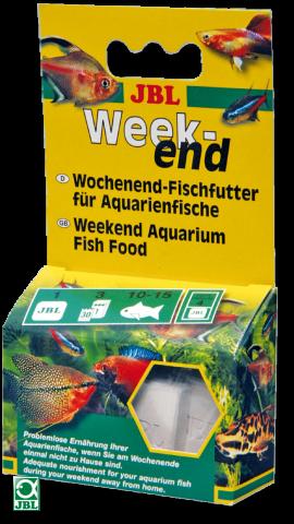 Сухой корм для рыб JBL Weekend - 4 блока