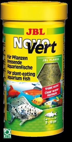 Сухой корм для рыб JBL NovoVert - хлопья