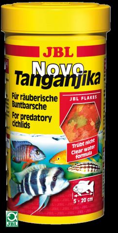 Сухой корм для рыб JBL NovoTanganjika - хлопья