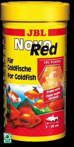 Сухой корм для рыб JBL NovoRed - хлопья