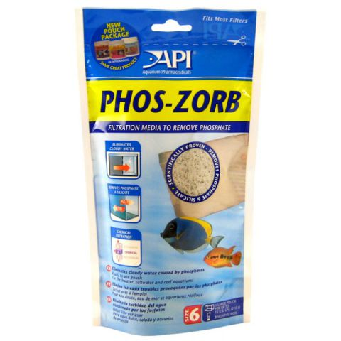 API PHOS-ZORB Очиститель воды в акваруиме от фосфатов и силикатов