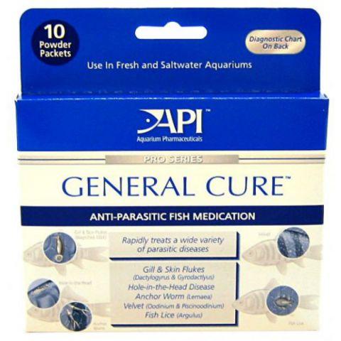 API General Cure Powder Packets Средство для всех рыб от паразитов