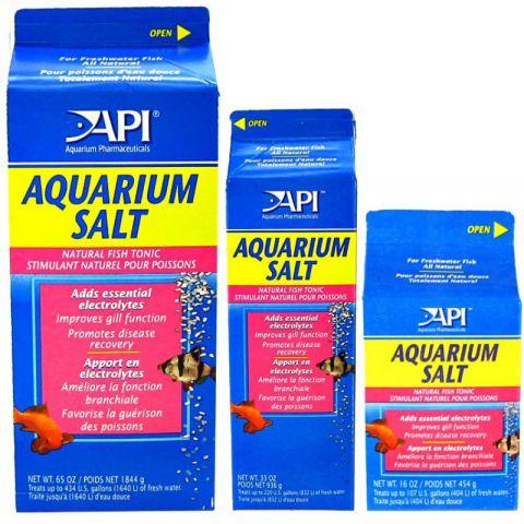 API AQUARIUM SALT Аквариумная соль для пресноводных аквариумных рыб