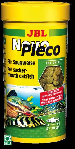 JBL NovoPleco ( Ново Плеко )  Корм для рыб в таблетках