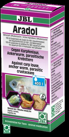 JBL Aradol (Арадол ) Препарат против карпоеда, ларнеи и других паразитов