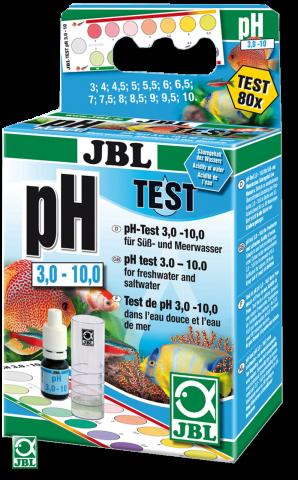 JBL pH Test 3,0-10,0 Тест на определение кислотности воды в акваруиме