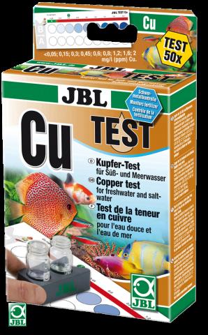 JBL KH Test Тест на содержание меди в аквариумной воде