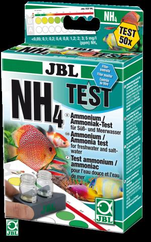 JBL NH₄ Тест на аммоний и аммиак впресноводной и морской воде