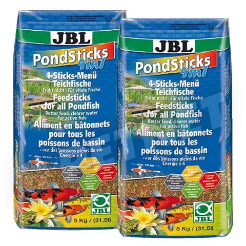 JBL Pond Sticks 4 in 1 Корм для прудовых рыб ( палочки четыре цвета )