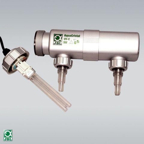JBL AquaCristal UV-C УФ стерилизатор для очистки воды - 9 вт