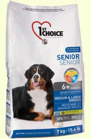 1st Choice Senior Medium and Large Breed корм для пожилых собак средних и крупных пород