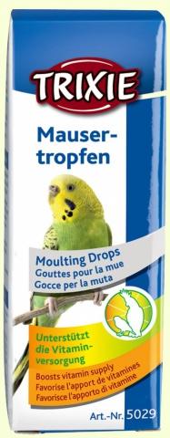 Витаминные капли при линьке у птиц Trixie Mauser-Tropfen