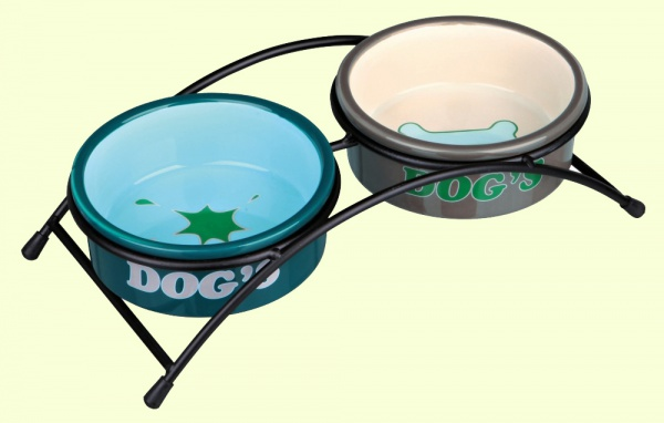 Миски керамические на подставке для собак Trixie Eat on Feet