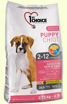 1st Choice Puppy Sensivity Skin корм для щенков