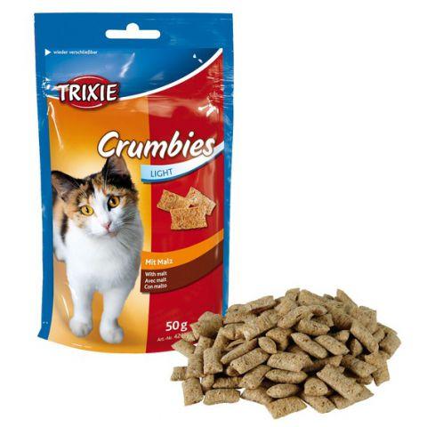 Trixie - 4262 Crumbies with Malt Лакомства для кошек подушечки