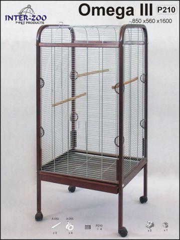 Клетка - вольер для больших и средних попугаев InterZoo Омега 3