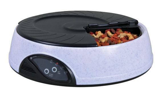 Автоматическая кормушка для кошек и собак Trixie Automatic Food Dispenser