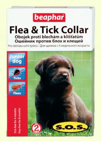 Ошейник для щенков против блох Beaphar SOS - 60 см