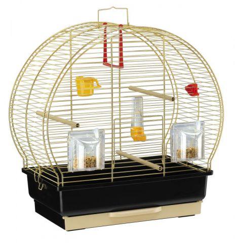 Клетка для попугаев и маленьких птиц Ferplast (Ферпласт) LUNA 2 (золото)