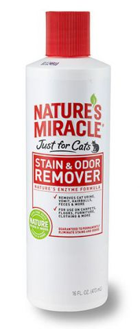 Nature's Miracle Just for Cats - Stain & Odor Remover Уничтожитель запаха кошачьих меток и мочи
