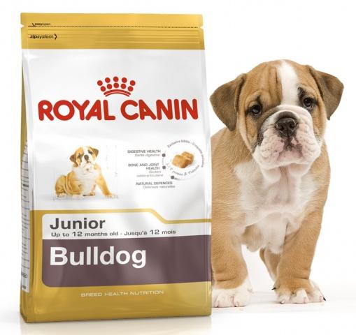 Royal Canin (Роял Канин) Bulldog Junior 30 Корм для щенков английских бульдогов до 12 месяцев