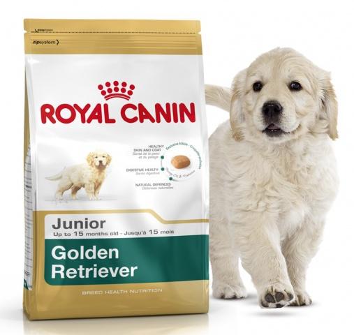 Royal Canin (Роял Канин) Golden Retriver Junior 29 корм для щенков голден ретривера до 15 месяцев