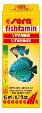 Sera Fishtamin витамины для рыб