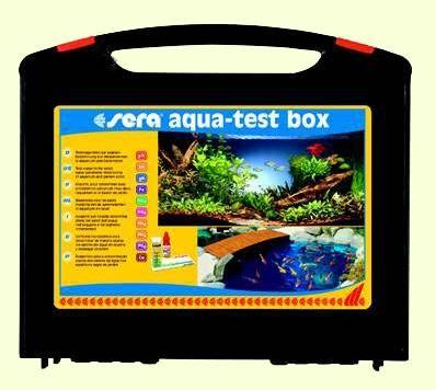 sera aqua test box - расширенный набор тестов для воды