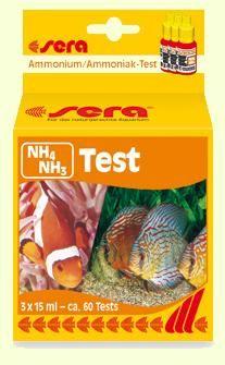 sera NH4/NH3-Тест - тест для определения концентрации аммония/аммиака