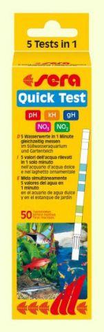sera Quick Test - тест на 5 параметров воды