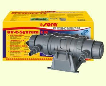 Sera UV-C System УФ стерилизатор для аквариума - 5 Вт