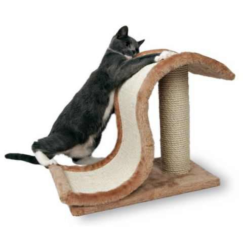 Trixie - 4341 Когтеточка для кошек напольная с сизалевым столбиком