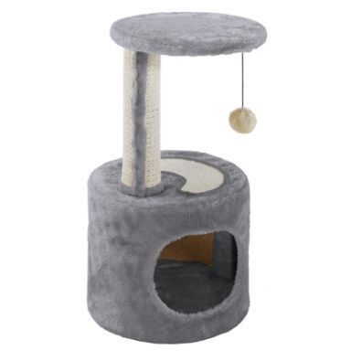 Домик - когтеточка для кошек Ferplast PA 4010. Размер: 30x30x57 см.