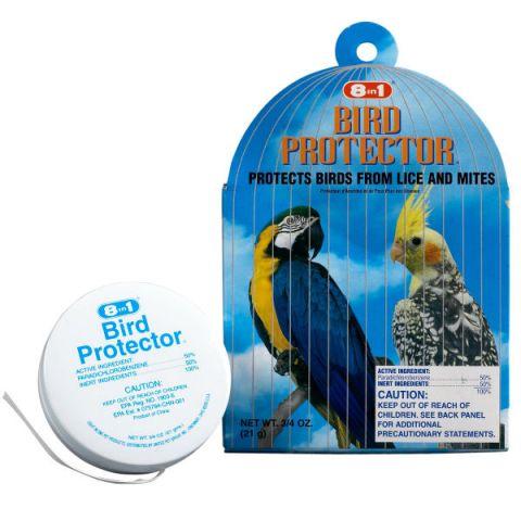 8 in 1 Bird Protector from Lice & Mites for Large Cage Средство от перьевых паразитов для крупных птиц