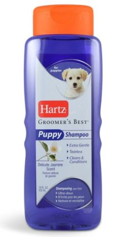 Шампунь для щенков с ароматом жасмина Hartz Groomer's Best Puppy Shampoo