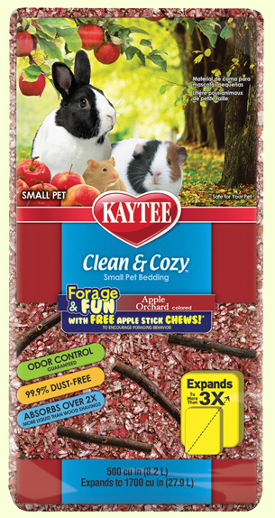 Подстилка для грызунов Kaytee Clean&Cozy Apple