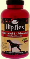 Глюкозамин с МСМ для собак NaturVet Hip Flex Joint Level 3 Advanced Care