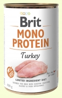 Brit Mono Protein Turkey Консерва с индейкой для собак