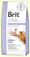 Лечебный корм для собак при заболеваниях ЖКТ Brit GF Veterinary Diet Dog Gastrointestinal