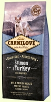 Carnilove Salmon & Turkey for Puppy Корм для щенков