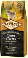 Carnilove Salmon & Turkey for Adult Large Breed Корм для собак крупных пород